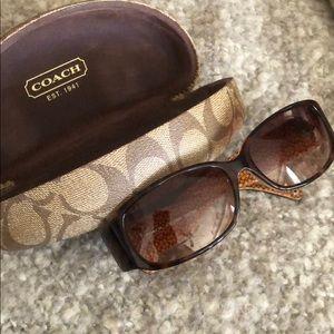 COACH Keri Tortoise Sunglasses